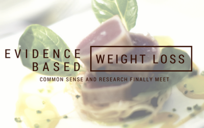 Evidence Based Weight Loss – Common Sense and Research Finally Meet